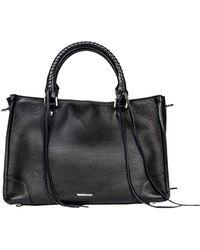 Rebecca Minkoff - Regan Black Handbag - Lyst