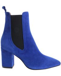 Paris Texas - Electric Blue Pointy Ankle Boots - Lyst