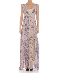 Twin Set - Violet Print Dress - Lyst