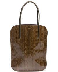 Nina Ricci - Snake Leather Bag - Lyst
