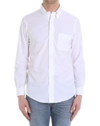 Brooks Brothers - White Cotton Shirt - Lyst