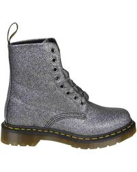 Dr. Martens - Anthracite Leather 1460 Pascal Boots - Lyst