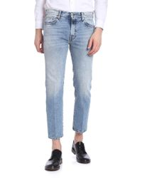 Covert - 5 Pockets Light Blue Jeans - Lyst