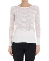 Patrizia Pepe - Knitted Jumper - Lyst
