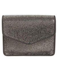 Alberta Ferretti - Shoulder Bag With Rhinestones - Lyst