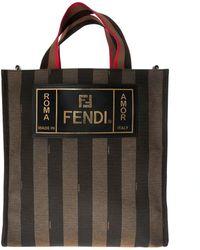 616df4e99d38 Fendi Zucca Weekender Bag in Brown for Men - Lyst