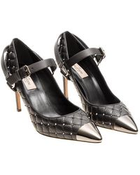 Valentino - Quilted Leather Pumps - Lyst