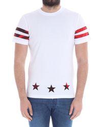 Hydrogen - White Printed T-shirt - Lyst
