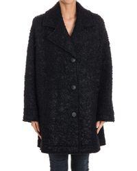 McQ - Bouclé Wool Coat - Lyst