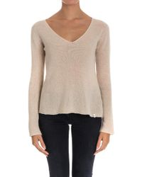 Ottod'Ame - Wool And Cashmere Jumper - Lyst