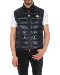 99dc4f6140ff Lyst - Moncler Gui Padded Gilet in Red for Men