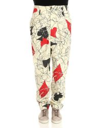 Vivienne Westwood - Spades And Hearts Low Crotch Trousers - Lyst