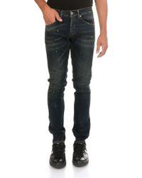 "Dondup - Jeans ""George skinny"" blu - Lyst"