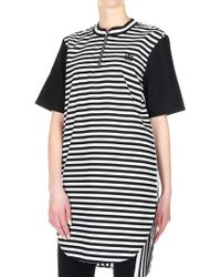 2c3a988693e adidas - Originals Dress In White And Black - Lyst
