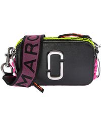 8d679dd623a1 Marc By Marc Jacobs - Camera Snapshot Bag With Neon Stitchings - Lyst