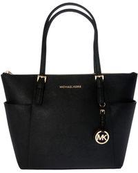Michael Kors - Black Jet Set Item Bag - Lyst