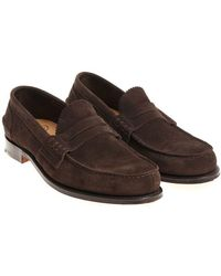 Church's - Brown Pembrey Loafers - Lyst