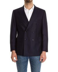 Brioni - Double-breasted Jacket - Lyst