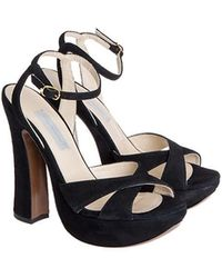 L'Autre Chose - Leather Sandals - Lyst