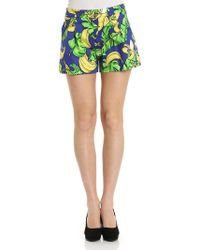 Love Moschino - Bananas Shorts - Lyst