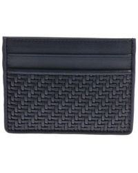 Ermenegildo Zegna - Woven Leather Cards Holder - Lyst