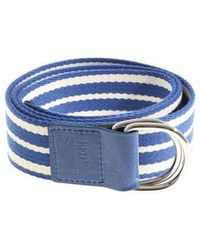 Leisured green and white striped belt Red Valentino aGSGVt7O