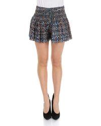 Étoile Isabel Marant - Blue Naoko Shorts - Lyst