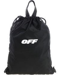 "Off-White c/o Virgil Abloh - ""wing Off"" Black Backpack - Lyst"