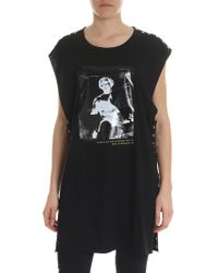 DIESEL - Black T-desy Top - Lyst