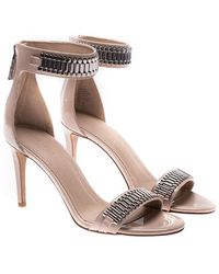 Kendall + Kylie - Pink Ankle-strap Sandals With Zip - Lyst