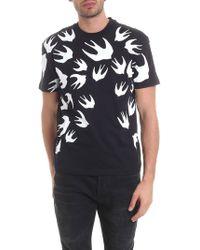 McQ - Swallow T-shirt In Black - Lyst