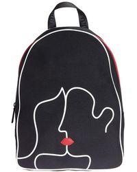 Lulu Guinness - Kissing Lips Backpack - Lyst
