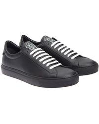 Givenchy - Sneaker in pelle nera - Lyst