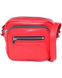 McQ - Red Loveless Shoulder Bag - Lyst