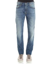 Covert - Blue 5 Pocket Jeans - Lyst
