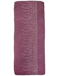 Altea - Floral Embroidery Scarf - Lyst
