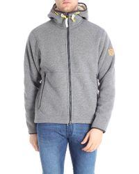 Fjallraven - Polar Fleece Grey Wool Blend Jacket - Lyst