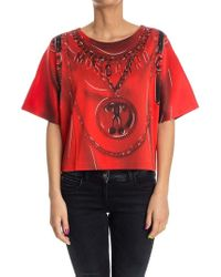 Moschino - Oversize T-shirt - Lyst
