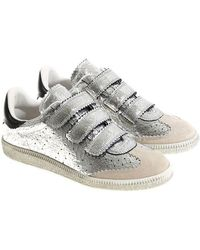 Isabel Marant - Silver Beth Sneakers - Lyst