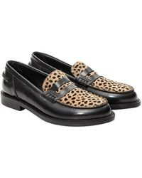 Lemarè - Leather Moccasin - Lyst