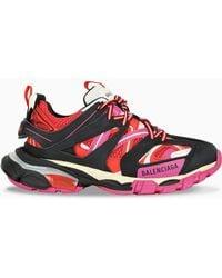 Balenciaga 'track' Sneakers - Red