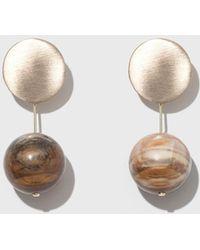 Modern Weaving - Short Drop Earrings - Lyst