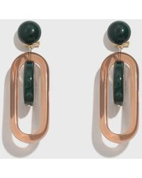 Rachel Comey - Malachite-amber Lohr Earrings - Lyst