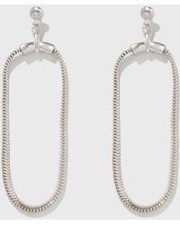 Open House - Soft Hoop Earrings - Lyst