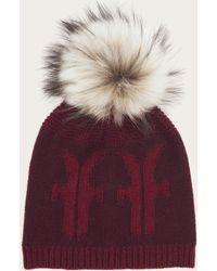 Frye - Women's Logo Pom Hat - Lyst