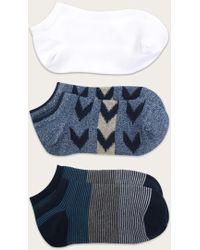 Frye - No Show Socks Three-pack - Women's - Lyst