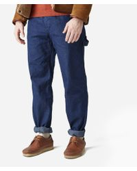 Engineered Garments - Logger Pant - 11oz Cone Denim - Lyst