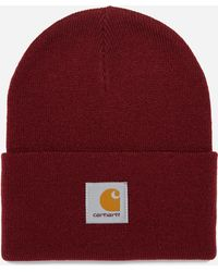 d67eacb9e74 Carhartt WIP Short Watch Beanie Hat in Brown for Men - Lyst