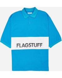 Flagstuff - Short Sleeve Polo Shirt - Lyst