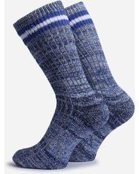 Universal Works - Everyday Stripe Socks - Lyst